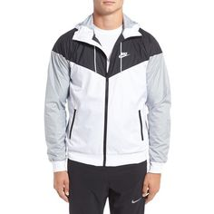 51a47d442e Men s Nike  Windrunner  Colorblock Jacket ( 100) ❤ liked on Polyvore  featuring men s
