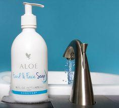 Para tu higiene personal y cuidado diario de pieles delicadas Jabón liquido con Aloe Vera de Forever Living, consiguelo llamando al 0990904128.