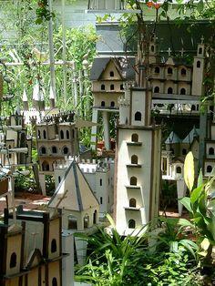 Whimsical Bird Houses | welcome to the neighborhood