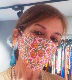 Tenemos nuevas mascarillas de algodón con bolsillo, para filtro, en estampados maravillosos. Venta online y en Zaragoza www.julunggul.com