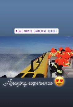 Want to see Whale ?? ...Do visit here!! BAIE-SAINTE-CATHERINE,QUEBEC.  WHALE WATCHING <3 Things to do when you visit Quebec,Canada #quebec #placestovisitincanada #canada  #places #whalewatching #amazingexperience #baie-sainte-catherine #Quebeccanada #Canadatravel #Quebeccitywinter #Montrealcanadawinter #Quebeccitycanada Montreal Canada, Whale Watching, Canada Travel, Quebec, Things To Do, Places To Visit, Amazing, Winter