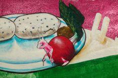 caratart Episode 2: Graffiti Kunst der Münchner Streetart Künstler LOOMIT und LawOne in der Tiefgarage des carathotel München. / caratart Episode 2: Graffiti art by the munich streetart artists LOOMIT and LawOne in the carathotel Munich underground parking. Graffiti Kunst, Watermelon, Underground Garage