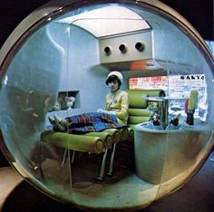 サンヨー館 Sanyo Health Capsule, Osaka World Expo 1970