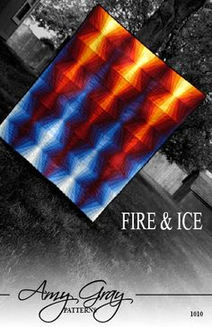 Fire & Ice Quilt Pattern PDF - must get