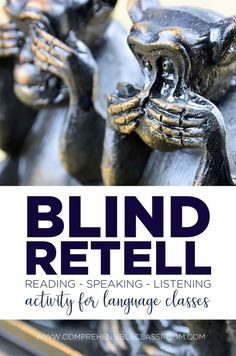 A blind retell is a reading activity that is cleverly disguised as a speaking activity. Learn how to use Blind Retells to help your students along the path to proficiency in a new language! High School Activities, Spanish Activities, Reading Activities, Classroom Activities, Spanish Games, Classroom Ideas, Class Activities, Reading Resources, Therapy Activities