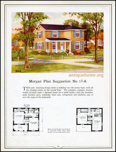https://flic.kr/p/JDg5ha | Morgan House Plan Suggestions::Building with Assurance | Building with Assurance - 1923 www.antiquehome.org