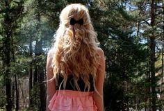 cute hair cute bow