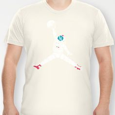 Space dunk T-shirt by Steven Toang - $18.00