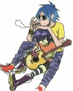 Gorillaz 2d - - Yahoo Image Search Results