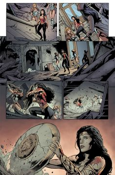 Wonder Woman 608 p2,  Pencils: Geraldo Borges Inks: Marlo Alquiza Colors: Mat Lopes