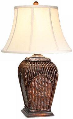 Natural Light Bayside Woven Table Lamp