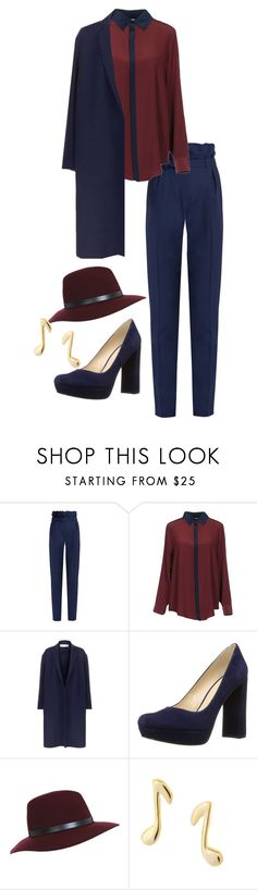 """""""One of those Kind of Nights"""" by yoshicutie on Polyvore featuring Gabriela Hearst, Soho de Luxe, Victoria Beckham, Nine West, Miss Selfridge and Dainty Edge"""