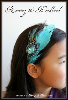 Roaring 20's Headband tutorial