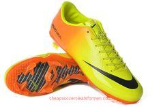 Nike Mercurial Vapor IX FG in Orange yellow black