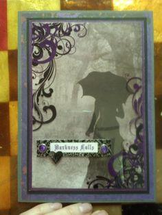 Darkness Falls Card - Scrapbook.com