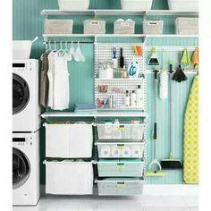 Laundry room. Organization ideas