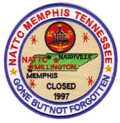 $14 - Us Navy Base Patch, Nattc Memphis Tennessee, Gone But Not Forgotten #ebay #Collectibles