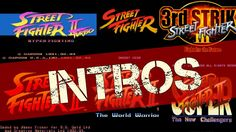 Street Fighter The Intro History - All Intros Openings http://youtu.be/Gyia8Vrb9GQ