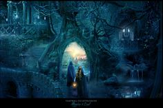 Farewell to Lothlorien by AlexandraVBach on deviantART