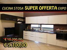Cucina Stosa, completa di lavastoviglie, piano cottura 5 fuochi, forno, lavello, miscelatore; in SUPER PROMO EXPO