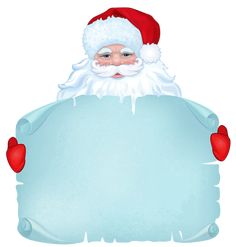 Transparent Santa Claus Decor Clipart
