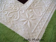 Amazing!! I wish I could do this. Work done by greenfairyquilts
