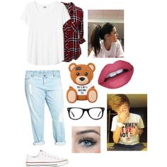 Date with le bæ by zishahoralik on Polyvore featuring polyvore, fashion, style, Rails, KUT from the Kloth, Converse and Muse