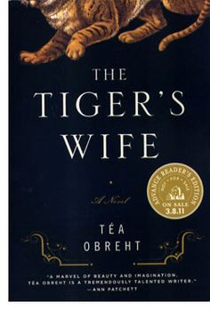 Tea Obreht The Tiger's Wife  Mysterious Book Report No. 13  http://johndwainemckenna.com/?s=13