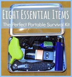 Natural Health News and Wellness Tips: 8 Essential Items For The Perfect Portable Survival Kit