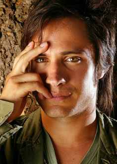 Gael Garcia Bernal-  ahhhh... one of my fave actors...quirky and hot... just the way I like them...