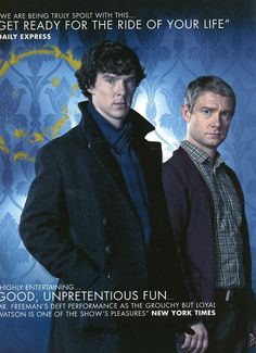 Sherlock- Out of all the new re-telling of Sherlock Holmes,  this is the best << got that right!