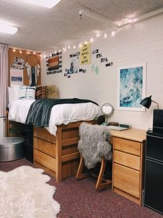Efficient Dorm Room Organization Decor Ideas 40