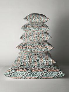 'Wild stripes' Floor Pillow by SannaKallio Textures Patterns, Floor Pillows, Cushions, Stripes, Prints, Design, Home Decor, Throw Pillows, Toss Pillows