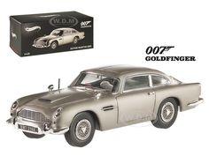 "Aston Martin DB5 Elite Edition James Bond 007 ""Goldfinger"" Movie 1964 1/43 Diecast Model Car Hotwheels BLY26"