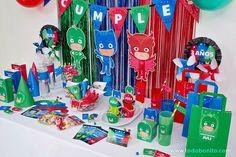 Pj Masks Birthday Cake, Baby Boy 1st Birthday Party, 5th Birthday, Peppa Pig, Kingdom Hearts, Boda Vintage Ideas, Barbie Em Paris, Festa Pj Masks, Minions