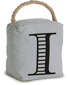 Pavilion Gift Company 72170 Door Stopper 5 by 6Inch Monogrammed I *** You can get additional details at the image link.