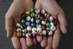 Pokeball, I would have loved to have these when I was 6. Shoot, I'd love to have these now lol