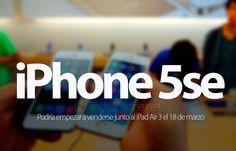 Conoce sobre iPhone 5se y iPad Air 3 ¿En venta desde el 18 de marzo?