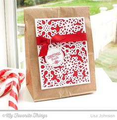 Snowflake Lunch Bag Makeover