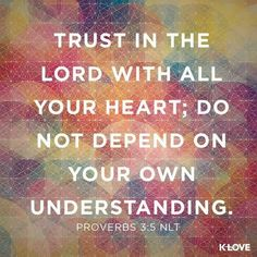 Proverbs 3:5 - Trust in the Lord