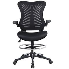 ☛☛ Homevol Drafting Chairs provides total comfort and functionality for professionals and students. Adjustable handy footring ,Tilt tension control,Dual-wheel Casters,keep your footing working at higher desk top surfaces. Supports up to 309 pounds and features a breathable mesh back, generously f... more details available at https://furniture.bestselleroutlets.com/home-office-furniture/home-office-desk-chairs/swivel-chairs/product-review-for-homevol-ergonomic-office-chair
