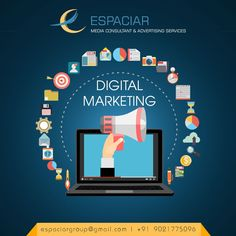 Digital marketing is the best way to give a boost to your business. You get to engage with your potential customers, make them listen to what you have to say and build relationships with them. Contact Pune for Digital Marketing services. Digital Marketing Services, Social Media Marketing, Pune, Seo, Promotion, Relationships, Branding, Business, Brand Management
