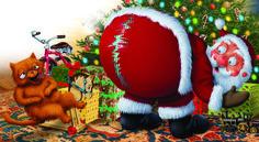 Good/Bad Santa's Journey -Ripped Pants