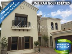 Jumeirah Golf Estates-Buying Lovely 4BR Villa Murcia Style  Are you presently dreaming of buying a home in Jumeirah Golf Estates, Dubai,United Arab Emirates(UAE)? See this available villa. Isn't it time to purchase this available house in Dubai, the centre of tourism nowadays? Furthermore, Dubai will host the Expo 2020 that will showcase tourism and industrial breakthroughs. JGE is really a luxury real estates in Dubai meaning it is a world-class residential community and it has excellent…