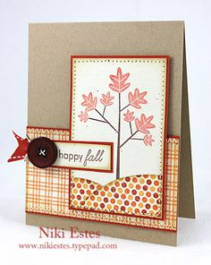 My Paper Creations: happy fall