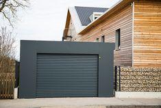 Construction Garage, Prefab Garages, Garage Door Replacement, Modern Garage Doors, Garage Double, Building A Garage, Carports, Furnished Apartment, Urban Planning
