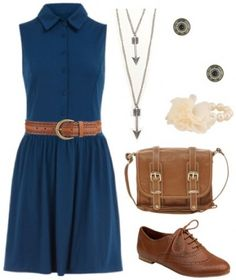 """Outfit inspired by Disney's """"Brave"""" - love the arrow necklaces and the hip belt"""