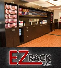 color bar | Hair Salon Equipment Sale - EZ Rack :: Buy Hair Salon Color Bar Now. Something like this would be great for us if we added doors and could lock them