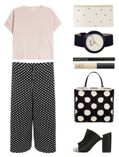 """show your ankles, girl"" by foundlostme ❤ liked on Polyvore featuring WearAll, MCM, Brunello Cucinelli, Robert Clergerie, Simplify, NARS Cosmetics, NYX, Sugar Paper, mules and myfavorite"