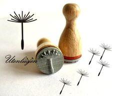 Ministempel - Pusteblume Stempel - ein Designerstück von Utenliesjen bei DaWanda